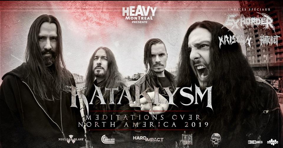 Affiche Concert Kataklysm