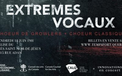 Critique & Photos – Growlers Choir – Montréal – 18 juin 2021